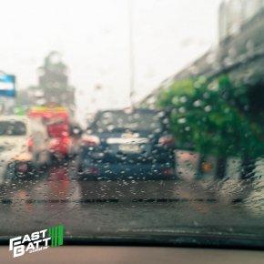 สิ่งที่ต้องดูแลรถ ช่วงหน้าฝน