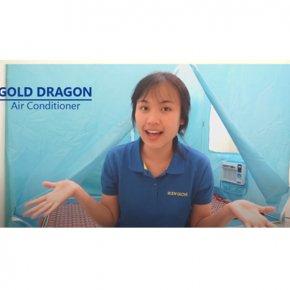 การวัดระดับเสียงแอร์ Gold Dragon รุ่น Gold-454