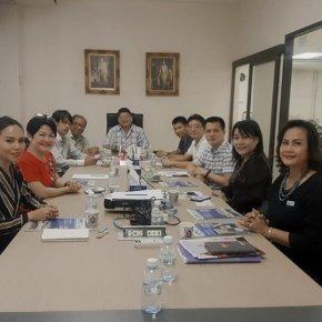 การประชุมหารือแนวทาง สร้างความร่วมมือ MOU ให้เกิดขึ้นระหว่าง 2 องค์กร