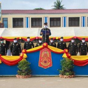 ช.พัน.4 พล.ร.4 ได้จัดกำลังพล หน่วยฝึกทหารใหม่เข้าร่วม พิธีต้อนรับทหารใหม่ผลัดที่ 1/63 และแนะนำตัวผู้บังคับบัญชาหน่วยทหารในพื้นที่ จ.ว.นครสวรรค์