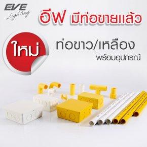 ผลิตภัณฑ์ น้องใหม่ ท่อร้อยสายไฟ uPVC Conduit อีฟ ไลท์ติ้ง