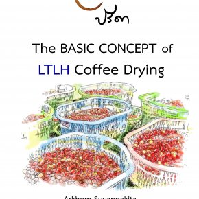 The basic concept of LTLH Coffee Drying