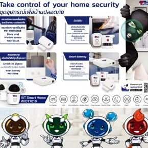 กล้องวงจรปิดแอพ WATASHI IOT Take control of your home security