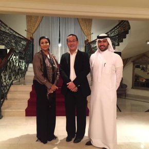 Dinner with Bahrain Vice President