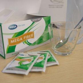 รีวิว ผลิตภัณฑ์เสริมอาหารที่ชื่อว่า Mega Fiber ของ Mega We care by นุ่น