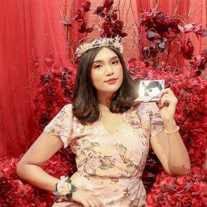 """Mille Le jardin Rose Blusher """"Blooming Gardeb"""""""