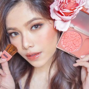 LUXURY MILLE LE JARDIN ROSE BLUSHER!