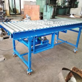 Accumulating roller conveyor