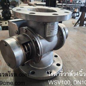 rotary valve dn100