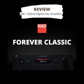 รีวิว NAD C388 : Hybrid Digital DAC Amp.
