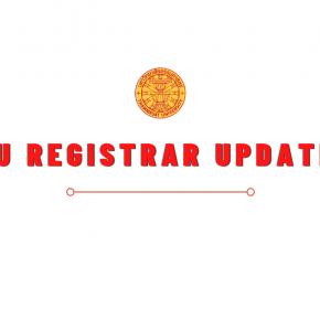 TU Registrar Update