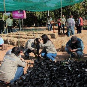 สหโคเจนสนับสนุนงบประมาณและร่วมเปิดศูนย์เพาะชำการอนุรักษ์พันธุกรรมพืชอันเนื่องมาจากพระราชดำริฯ อ.ภูเพียง จ.น่าน