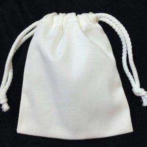 กระเป๋าผ้าดิบหูรูด 8x10 นิ้ว ถุงผ้าดิบแคนวาส เริ่มต้น 20 บาท