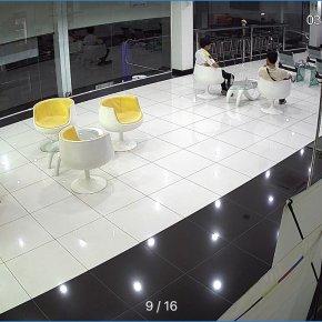 งานติดตั้งกล้องวงจรปิด COCKPIT