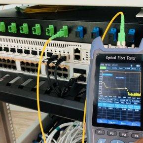 บริการติดตั้งระบบสาย Fiber Optic , FTTX