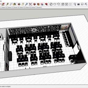 บริการออกแบบระบบ 2D-3D