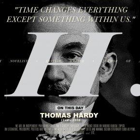 On This Day | โธมัส ฮาร์ดี้ (Thomas Hardy)