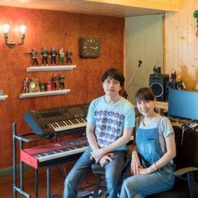 Home Studio ในบ้านคู่รักนักแต่งเพลง ผู้ก่อตั้งค่ายเพลงสัญชาติไทย 'ใบชา song'