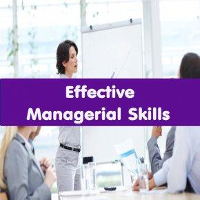 หลักสูตร Effective Managerial Skills (อบรม 1 เม.ย.64)