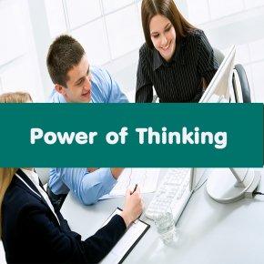 หลักสูตร Power of Thinking (อบรม 20 เม.ย. 64)