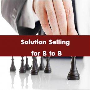 หลักสูตร Solution Selling for B to B (อบรม 28 เม.ย.64)
