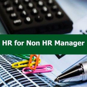 หลักสูตร HR for Non HR Manager