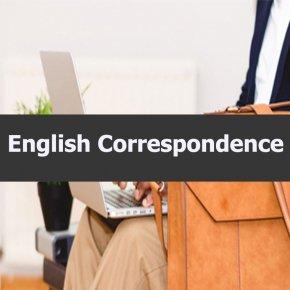 หลักสูตร English Correspondence การโต้ตอบจดหมายภาษาอังกฤษ_อ.ปิยะธิดา