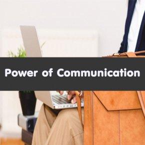 หลักสูตร Power of Communication