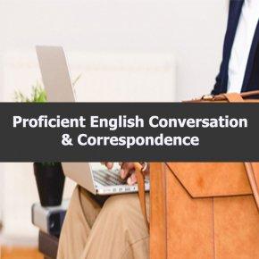 หลักสูตร Proficient English Conversation & Correspondence  การสนทนาและโต้ตอบภาษาอังกฤษอย่างเชี่ยวชาญ _อ.ปิยะธิดา