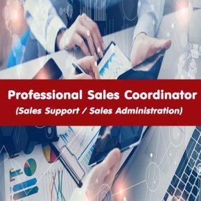 หลักสูตร Professional Sales Coordinator