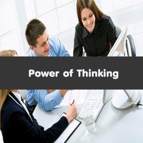 หลักสูตร Power of Thinking (อบรม 21 ต.ค. 63)