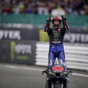 'ฟาบิโอ กวาตาราโร' ปิดจ๊อบ Emilia Romagna Grand Prix คว้าแชมป์ MotoGP 2021