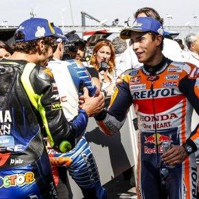 ถึงความสัมพันธ์ของทั้งคู่จะไม่ดีแต่ 'มาร์เกซ' ยอมรับว่า 'รอสซี' มีความสำคัญกับวงการ MotoGP