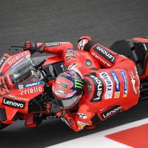 2 สนามติด! 'เป็กโก้' คว้าโพล San Marino Grand Prix