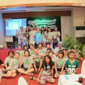 Party outing at kanjanaburi 2014