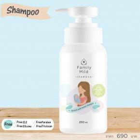 Natural mild herbal shampoo  แชมพูของFamily Mild