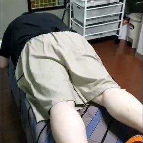 การรักษาผู้ป่วยภาวะหมอนรองกระดูกทับเส้นประสาท ปวดร้าวลงขา