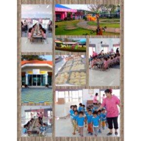 กิจกรรม พาน้องๆ เล่นเกมส์ ณ บ้านเด็กอ่อนรังสิต ในวันเด็กแห่งชาติ 2557