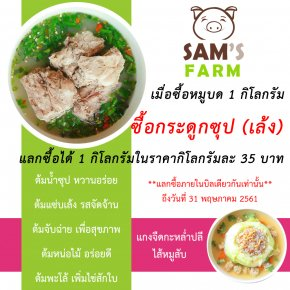 Sam's Farm : Promotion of Month (May)