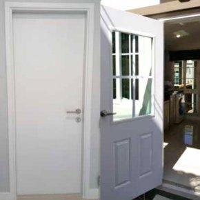 ประตูUPVCสำหรับบานห้องน้ำ โครงการ GOLDEN NEO
