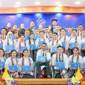วิทยาลัยชุมชนสงขลา จัดพิธีประสาทอนุปริญญาบัตร แก่ผู้สำเร็จการศึกษา ประจำปีการศึกษา 2562