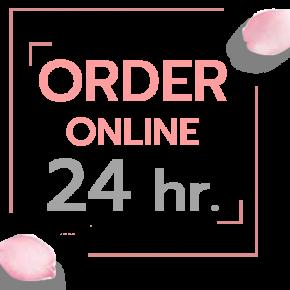 Order Online 24 hr.