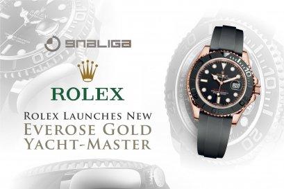 "Rolex เปิดตัว Everose Gold Yacht-Master พร้อมสายข้อมือ ""Oysterflex"" ในงาน Baselworld 2015"