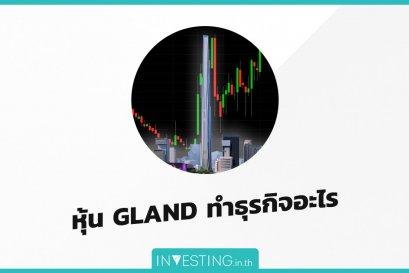 หุ้น GLAND ทำธุรกิจอะไร