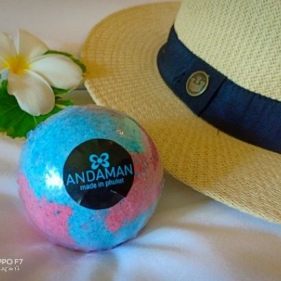 ANDAMAN After Sun Bath Bomb Aqua Kiss