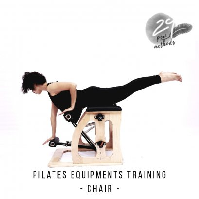 Pilates Equipment- Chair, Spine Corrector, Arch, and Glider