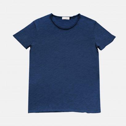 เสื้อยืดคอกลม Artist Tee สีน้ำเงิน