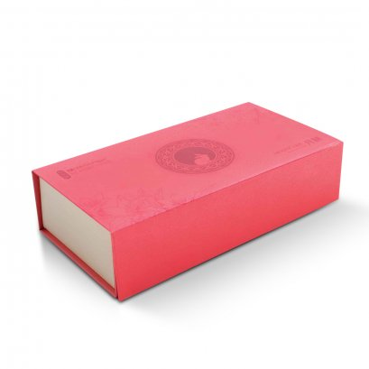 กล่อง Shallow ฝาแม่เหล็ก หุ้มด้วยกระดาษพิเศษ พิมพ์ลาย (บรรจุได้ 2/3 ชิ้น)