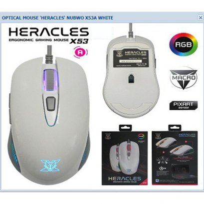 Mouse USB Nubwo X53 HERACLES