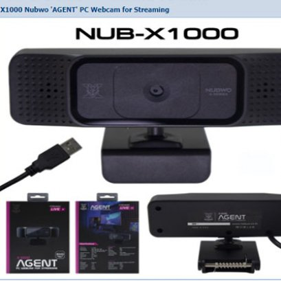 WebCam AGENT NUB-X1000